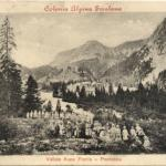 Aupa - Colonia Alpina di Frattis all'inizio del 1900